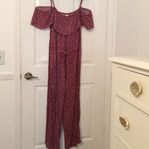 Old Navy Paisley Jumpsuit